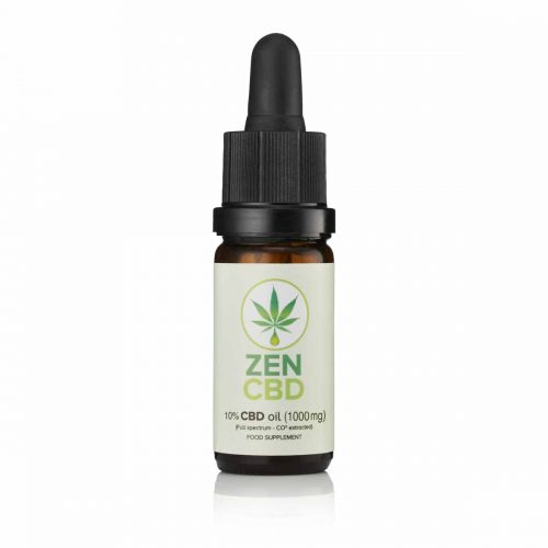 Pure cbd oil 10% supplement